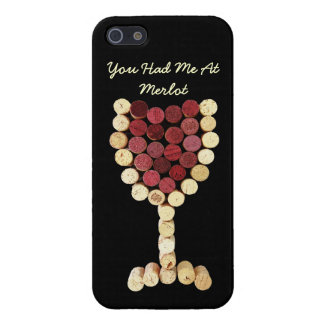 Cork Wine Glass iPhone 5 Case