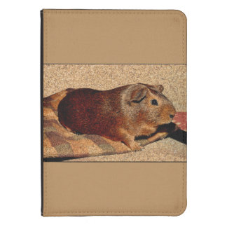 Corkboard Look Guinea Pig Kindle Case