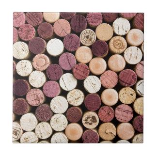 Corks on End Tile