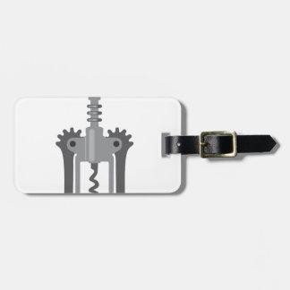CorkScrew Luggage Tag