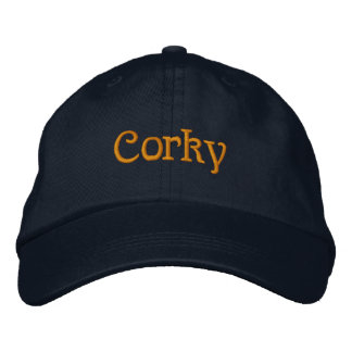 Corky Embroidered Hats