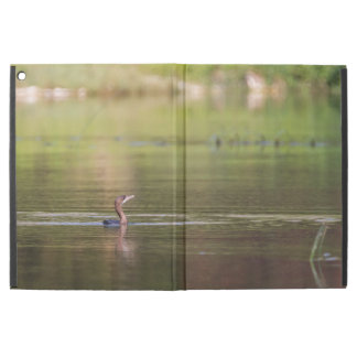 "Cormorant bird swimming peacefully iPad pro 12.9"" case"