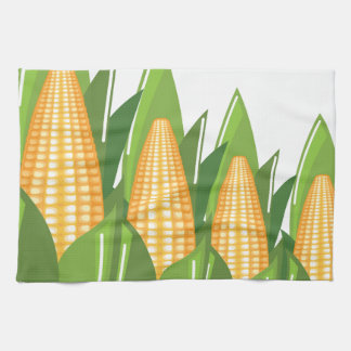 Corn Cob Kitchen Towel