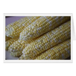 Corn Cobb Note card