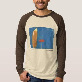 Corn Dog and Cocktail Weenie by Mark Mattson T-Shirt