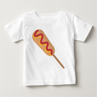 Corn Dog Drawing Baby T-Shirt