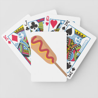 Corn Dog Drawing Bicycle Playing Cards