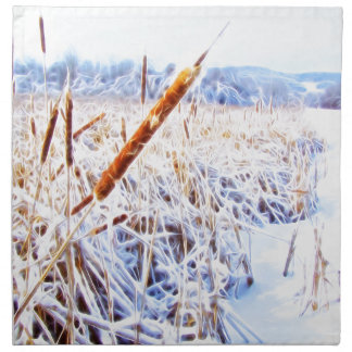 Corn Dog in winter Cloth Napkins