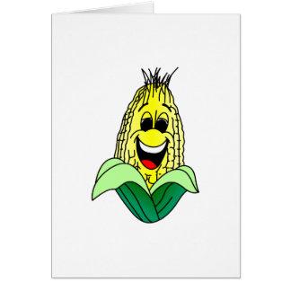 Corn Face Card