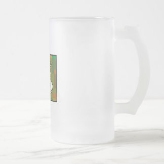 Corn for Kwanzaa 16 Oz Frosted Glass Beer Mug