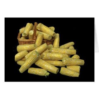 Corn Harvest Card