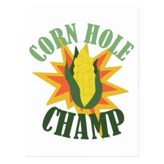 Corn Hole Champ Postcard