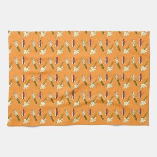 Corn Husks: Heirloom Corn Pattern Kitchen Towel