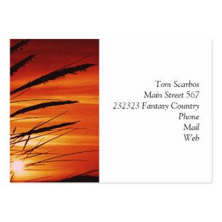 Corn Large Business Card