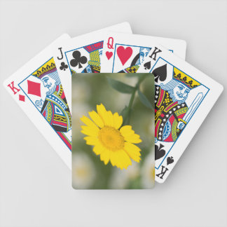 Corn Marigold Bicycle Playing Cards