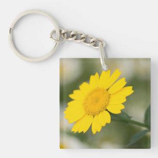 Corn Marigold Keychain