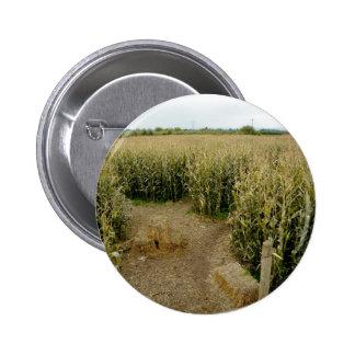Corn Maze 2 Inch Round Button