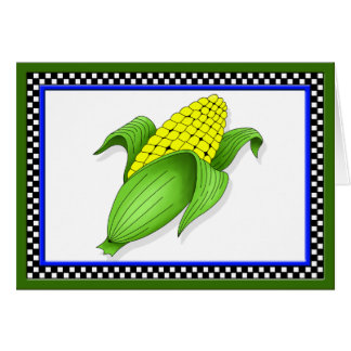 Corn On The Cob Greeting Card