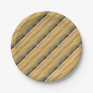 Corn on the Cob Party Supplies Paper Plate