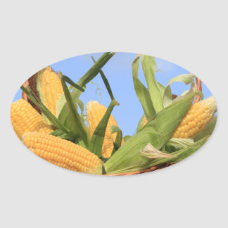 Corn on the Cob Sticker