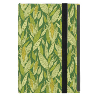 Corn plants pattern background iPad mini cases