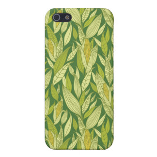 Corn plants pattern background iPhone 5/5S cases