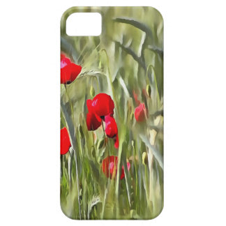 Corn Poppies Case For The iPhone 5