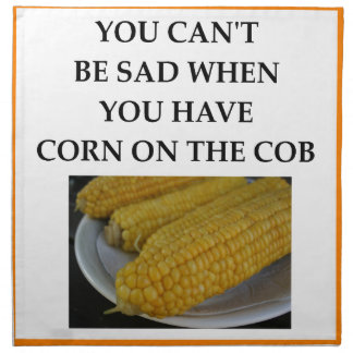 CORN PRINTED NAPKINS