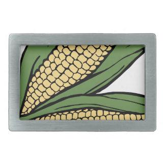 Corn Rectangular Belt Buckle
