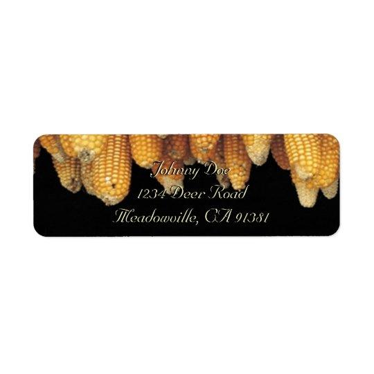 Corn Row Avery Label