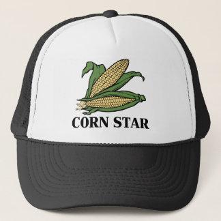 Corn Star Funny Vegetable Pun BBQ Humor Trucker Hat