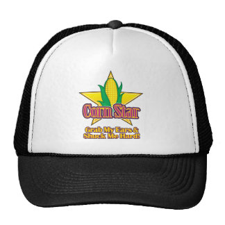 Corn Star – Grab my ears and shuck me hard Trucker Hat