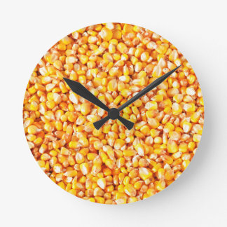 Corn texture round clock