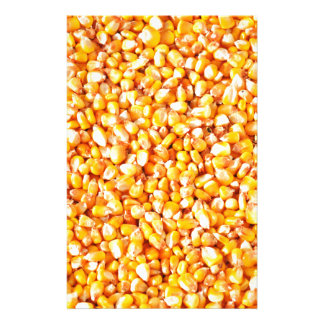 Corn texture stationery