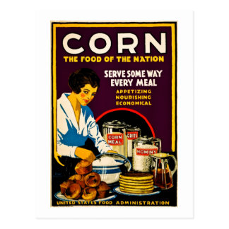 Corn - The Food of the Nation Postcard