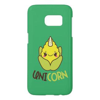 Corn Unicorn Samsung Galaxy S7 Case