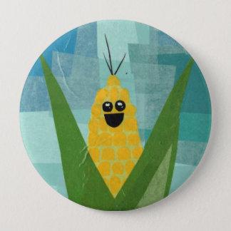 Corn! Vegeta-Button 4 Inch Round Button