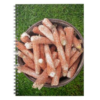 Corn waste notebook