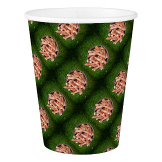 Corn waste paper cup