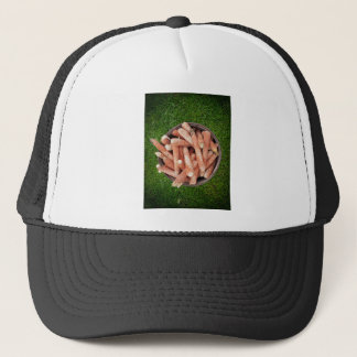 Corn waste trucker hat