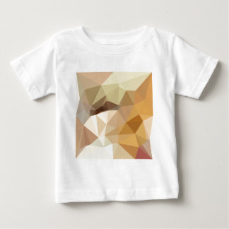 Corn Yellow Beige Abstract Low Polygon Background Baby T-Shirt