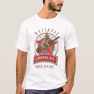 Corndog Day Rodeo Logo T-Shirt