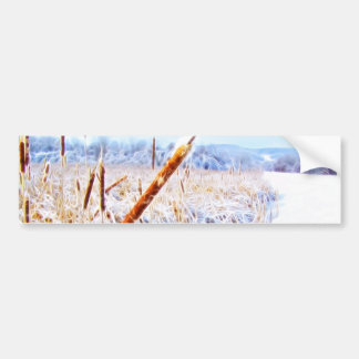 Corndog in the snow bumper sticker