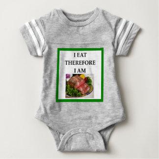 corned beef baby bodysuit