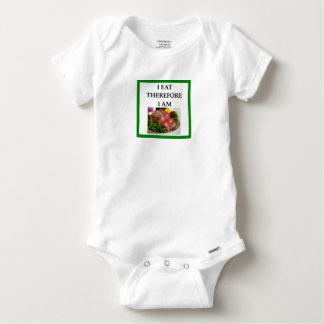 corned beef baby onesie