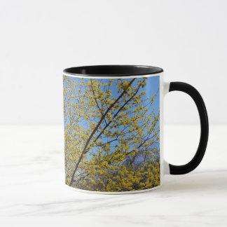 Cornelian Cherry Dogwood and Blue Sky Mug