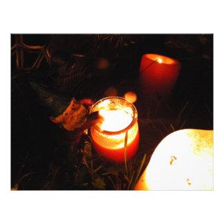 Cornelius Candle Personalized Letterhead