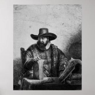 Cornelius Claesz Anslo  1640 Poster