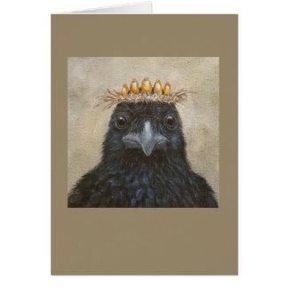Cornelius the crow card