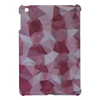 Cornell Red Abstract Low Polygon Background iPad Mini Cover